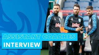 ASSISTANT COACHES INTERVIEW | Narcís Pèlach, Jorge Alarcón, and Danny Schofield speak to HTTV
