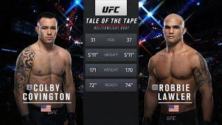 Free Fight: Colby Covington vs Robbie Lawler