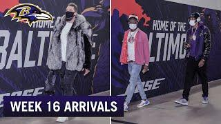 Ravens Arrive at M&T Bank Stadium Week 16 vs. Giants | Baltimore Ravens