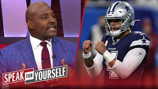 Wiley believes Jerry Jones will cave and pay Dak Prescott, talks Cam | NFL | SPEAK FOR YOURSELF