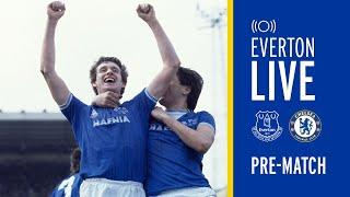 LIVE EVERTON V CHELSEA PRE-MATCH SHOW WITH KEVIN SHEEDY!