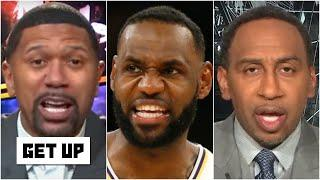 Stephen A. and Jalen debate where LeBron James ranks on the NBA's all-time list | Get Up