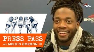 Melvin Gordon on Jerry Jeudy: 'I think he can be a top receiver in the game'