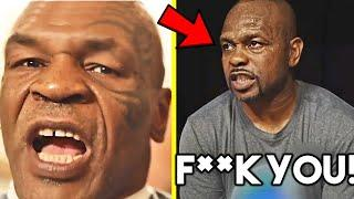 """*HEATED* MIKE TYSON: """"I AM CAPABLE OF DOING BAD THINGS IF YOU UPSET ME""""- ROY JONES JR RESPONDS!!!"""