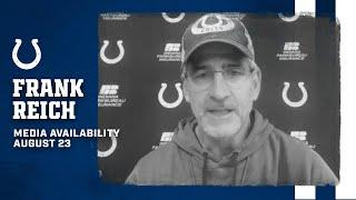 Frank Reich On Talent Evaluations, Upcoming Scrimmage