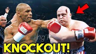 """*K.O* Mike Tyson. vs. Eric """"Butterbean"""" Esch. FULL FIGHT HIGHLIGHTS *KNOCKOUT in BOXING 2021*"""