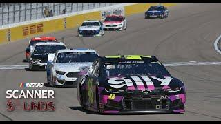 Scanner Sounds | Jimmie Johnson: 'What the (expletive) was he thinking' | NASCAR in Las Vegas
