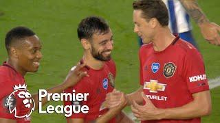Bruno Fernandes puts Manchester United 2-0 up against Brighton | Premier League | NBC Sports