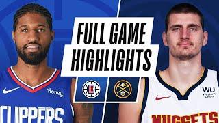 CLIPPERS at NUGGETS | FULL GAME HIGHLIGHTS | December 25, 2020