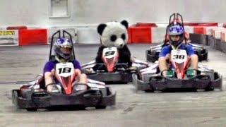 Go Kart Battle | Dude Perfect