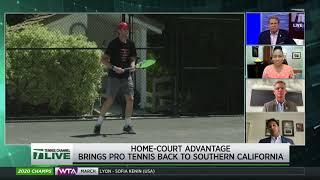 Tennis Channel Live: Brett Haber on How Home Court Advantage Brought Pro Tennis Back to Southern CA