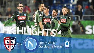 Highlights Serie A - Cagliari vs Napoli 0-1