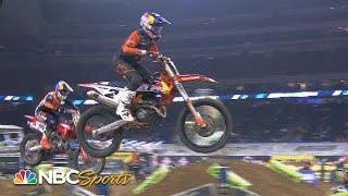 Supercross Round 3 at Houston | EXTENDED HIGHLIGHTS | 1/23/21 | Motorsports on NBC