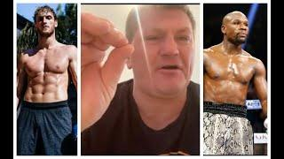 'IS THIS A JOKE? - ARE YOU TAKING THE P***? - RICKY HATTON REACTION TO FLOYD MAYWEATHER v LOGAN PAUL