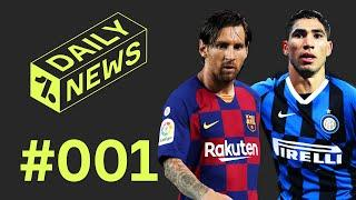 Barcelona in CRISIS? + Inter's Hakimi offer!  Daily News