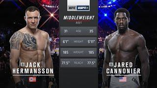 UFC 254 Free Fight: Jared Cannonier vs Jack Hermansson