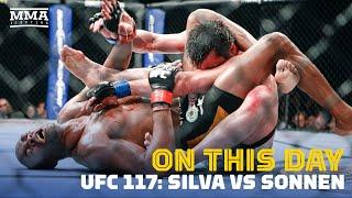 On This Day In MMA: Anderson Silva Submits Chael Sonnen At UFC 117 - MMA Fighting