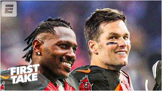 Is Tom Brady responsible for Antonio Brown performance with the Bucs? First Take debates