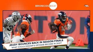 What does Jerry Jeudy's TD vs. Raiders tell us about his potential next season? | Broncos Beat