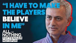JOSE Meets the SPURS Players for the First Time!   All or Nothing: Tottenham Hotspur
