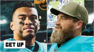 Should Tua sit behind Ryan Fitzpatrick in his rookie season with the Dolphins? | Get Up