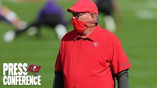 Bruce Arians on Clinching Playoff Spot, Tom Brady's 300th Game   Press Conference