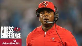 Byron Leftwich on Howard to Injured Reserve & Running Back Depth   Press Conference