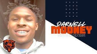 Mooney ready to get to work with Bears offense|Skype Interview|Chicago Bears