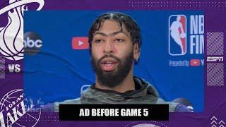 Anthony Davis on what it would mean to win his first NBA title | 2020 NBA Finals