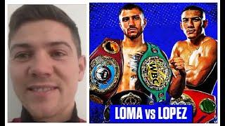 'I WANT TEOFIMO LOPEZ TO WIN' - FORMER OPPONENT OF VASYL LOMACHENKO (LUKE CAMPBELL) TALKS LOMA-LOPEZ