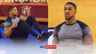 Workout with Anthony Joshua! | AJ gives online fitness class at his secondary school