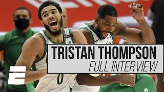 Tristan Thompson explains how LeBron helped prepare him to lead the young Celtics | Hoop Streams