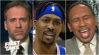 Stephen A. laughs at Max's Dwight Howard take | First Take