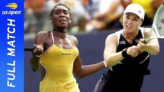 Venus Williams vs Martina Hingis in a brilliant contrast of style! | US Open 2000 Semifinal