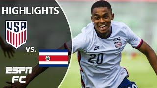 USMNT takes down Costa Rica in a dominant performance | ESPN FC