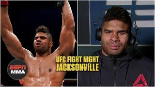Alistair Overeem calls 1st-round attack from Walt Harris a 'wake-up call' | UFC Post Show | ESPN MMA