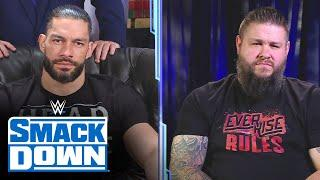 Roman Reigns and Kevin Owens exchange words en route to Royal Rumble: SmackDown, Jan. 29, 2021