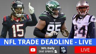 NFL Trade Deadline Live 2020 - Latest Trades, News & Rumors On Stephon Gilmore And Will Fuller