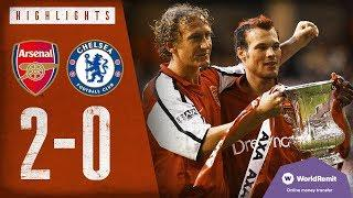 TWO STUNNING GOALS! Arsenal 2-0 Chelsea   FA Cup Final highlights   2002