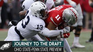 Ohio State vs. Penn State Preview, ACC Standouts & Scouting Tight Ends | Journey to the Draft