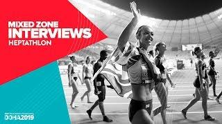Women's Heptathlon Interviews | World Athletics Championships Doha 2019