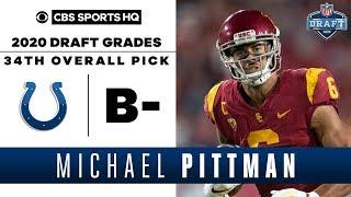 Colts get a SOLID weapon for Philip Rivers in Michael Pittman with the 34th pick | 2020 NFL Draft