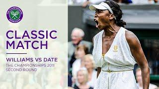 Venus Williams vs Kimiko Date | Wimbledon 2011 second round | Full Match