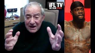 'YOU HAVE TO QUESTION WILDER'S SANITY!!!' - BOB ARUM LAUNCHES RANT / RESPONDS TO HEARN & RIPS SPENCE