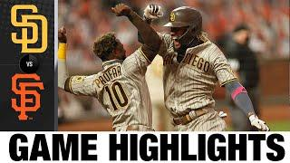 Padres smash three home runs in win over Giants   Padres-Giants Game Highlights 9/26/20
