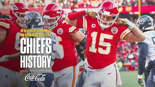 Patrick Mahomes' Magical Moment in AFC Championship | Refreshing Moments in Chiefs History