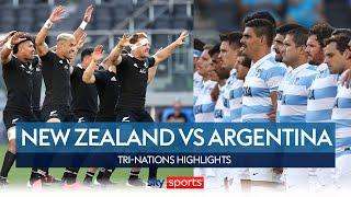 New Zealand & Argentina put on a show in Sydney! | New Zealand v Argentina | Tri Nations Highlights
