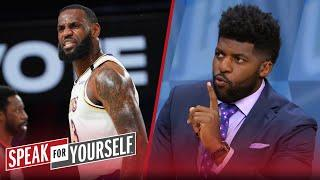 LeBron is 'thrilled' he'll be facing Nuggets instead of Clippers — Acho | NBA | SPEAK FOR YOURSELF