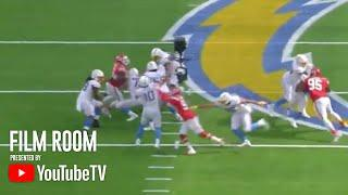 Justin Herbert Shines On Tape From His First Career Start | Film Room