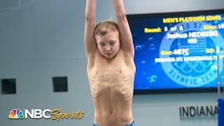 14 year old Joshua Hedberg makes Olympic trials finals with terrific performance   NBC Sports